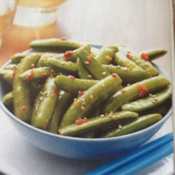 Spicy Sugar Snap Peas