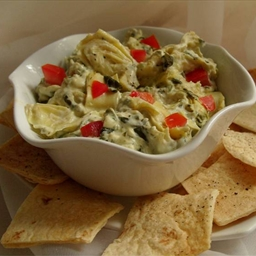 Spinach and Artichoke Dip (like Houston's)