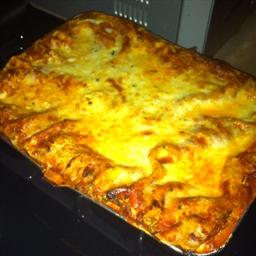Spinach and Mushroom Veggie Lasagna