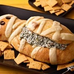 Spooky Mummy Bread Bowl