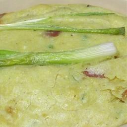 Spoon Cornbread with panceta