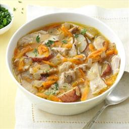 SLOW COOKER Spring-Thyme Chicken Stew