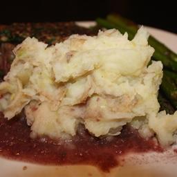 Side: Potatoes W/ Leeks, Garlic