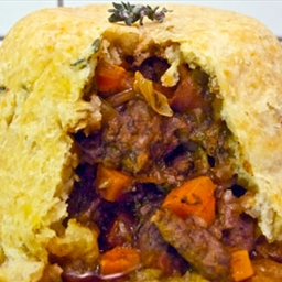 steak and kidney pudding