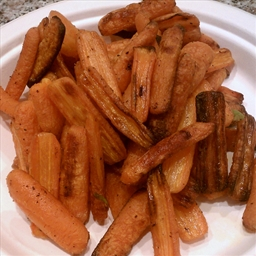 Steam-Roasted Carrots