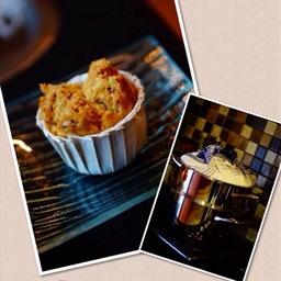 Pumpkin and Banana Muffin (steam)
