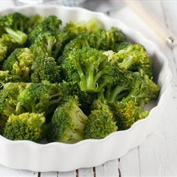 Stir-Fried Orange and Dill Broccoli