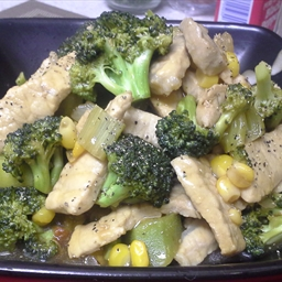 Stir Fry Pork & Veggies
