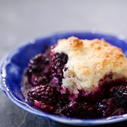 Stovetop Blackberry Cobbler