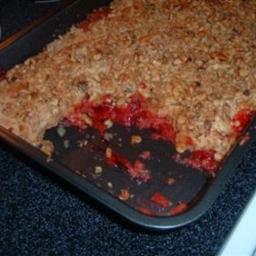Strawberry Dump Cake