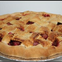Strawberry-Rhubard Pie