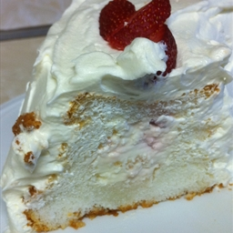 Strawberry Tunnel Cake (Eagle Brand)