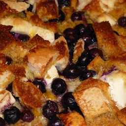 Stuffed Blueberry French Toast
