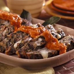 Stuffed Italian Meat Loaf