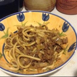 Sue's Spaghetti  Bol