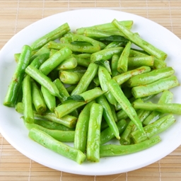 Sugar Snap Peas with Lemon, Garlic and Basil