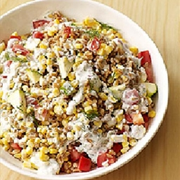 Summer Vegetable and Farro Salad