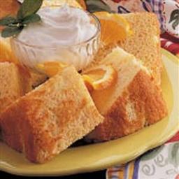 Sunny Sponge Cake
