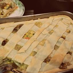 Super Easy Pot Pie