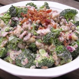 Sweet And Nutty Broccoli Salad