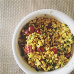 Sweet Corn & Tomato Salad