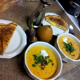 Sweet Potato and Pear Bisque