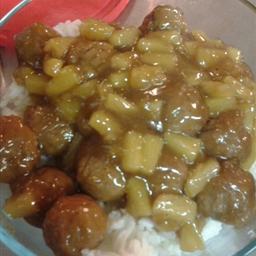 Sweet & Sour Meatballs