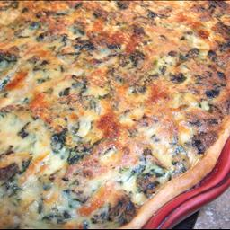 Swiss and Spinach Quiche ( By Angela Stanco Kidder)
