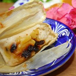 Tamales de Pina