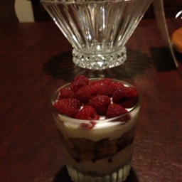 Tangy Chease Cake Parfait (with out chese)