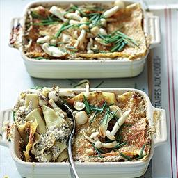 TasteMag: Mushroom Lasagne Bianco