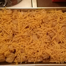 Tater Tot Ground Turkey Casserole - Super Easy
