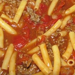 Tex-Mex Beefy Noodle Stewlash