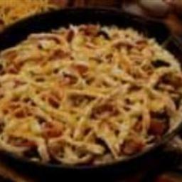 Tex-Mex Turkey Pizza Pancake