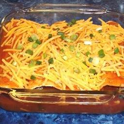 Texas Red Enchiladas