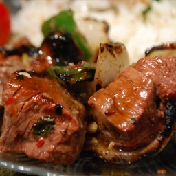 Thai Beef Kabobs