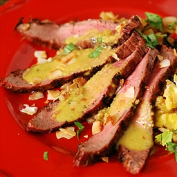 Thai Grilled Steak with Basil Fried Rice