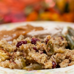 Thanksgiving stuffing a la Alton
