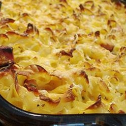 The Gentleman's Cheesy Macaroni with Ham & Cheese