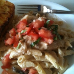 Three Cheese Chicken Penne