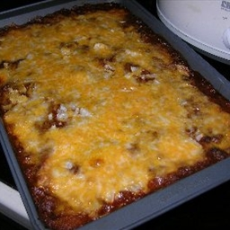 Three-Cheese Enchiladas
