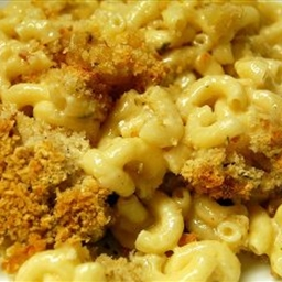 Recipes Course Side Dish Casseroles Three-Cheese Macaroni And Cheese