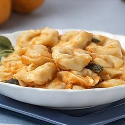 Three Cheese Tortellini with Pumpkin Sage Butter