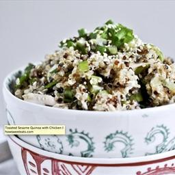 Toasted Sesame Quinoa Chicken