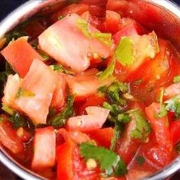 Tomato and Coriander Salad (Salatat Tamatim wa Kuzbara)