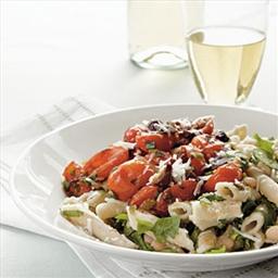 Gluten-Free Tomato-Basil Pasta with Asiago
