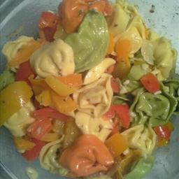 Tortellini And Peppers