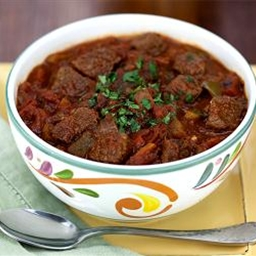 Traditional Texas No-bean Chili
