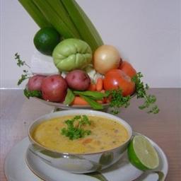 Tripe Soup (Soupa de Mondongo)