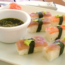Tuna And Prawn Sushi